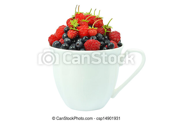 berries in a cup - csp14901931