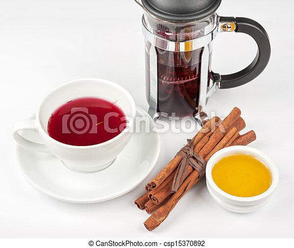 berries tea - csp15370892