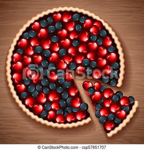 berry pie - csp57651707