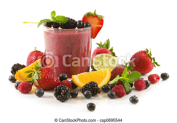 Berry smoothie - csp0695544