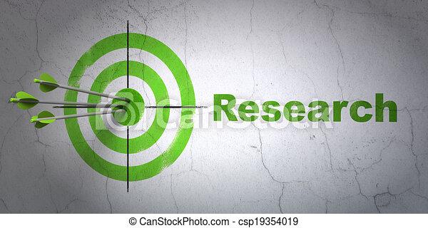 bersaglio, parete, ricerca, pubblicità, fondo, concept: - csp19354019