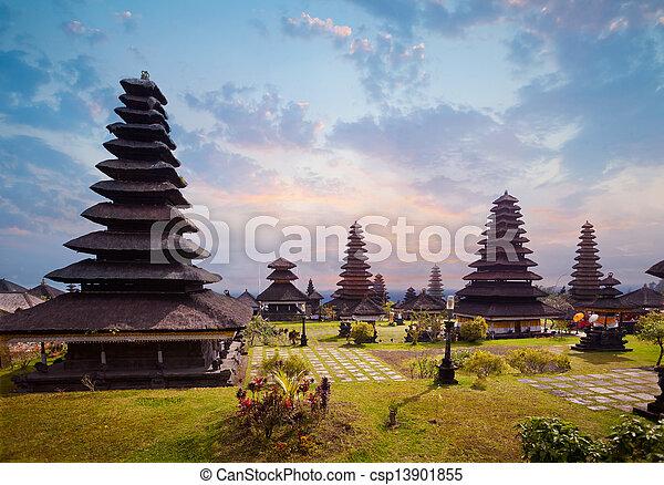 Besakih complex Pura Penataran Agung - csp13901855