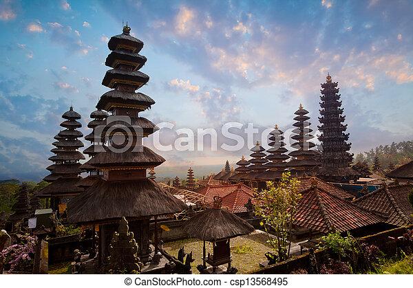 Besakih complex Pura Penataran Agung - csp13568495