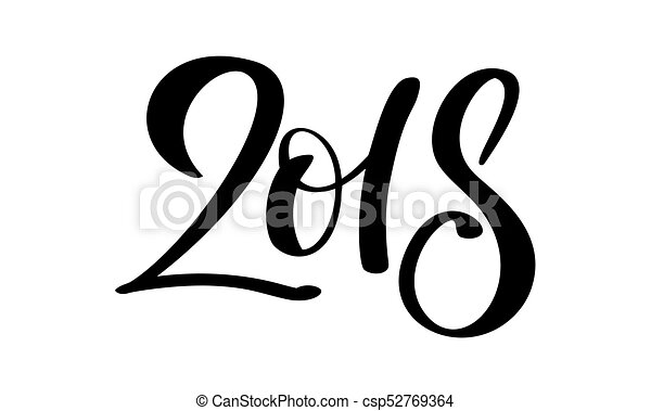 Beschriftung Gezeichnet Zahl Abbildung Hand Hintergrund Year