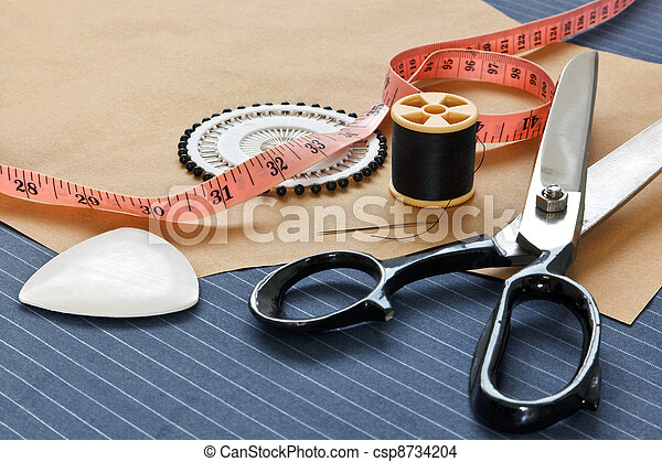 Bespoke suit template and tools - csp8734204