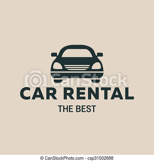 Best car rent logo icon strong vector illustrations for Car rental logo samples