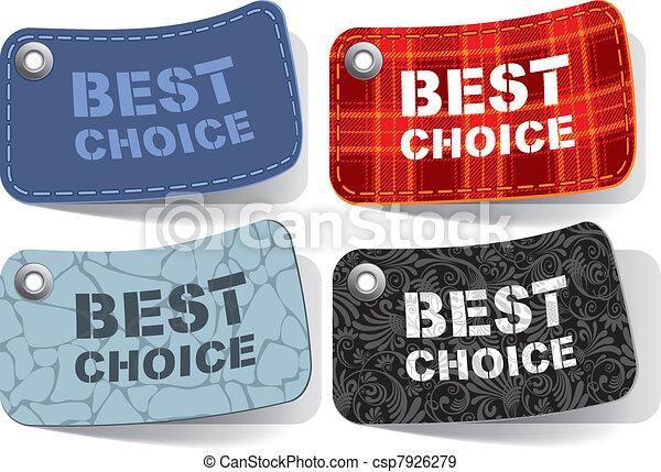 Best choice tags - csp7926279