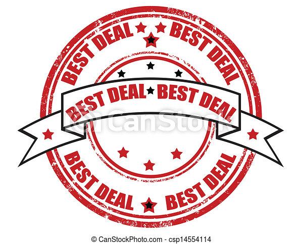 Best deal-stamp - csp14554114