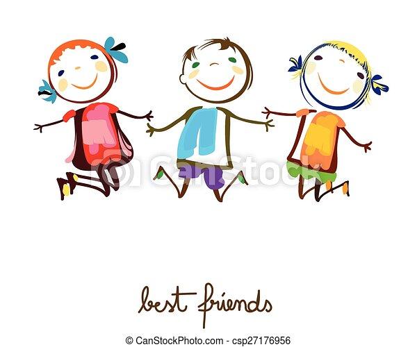 best friends - csp27176956