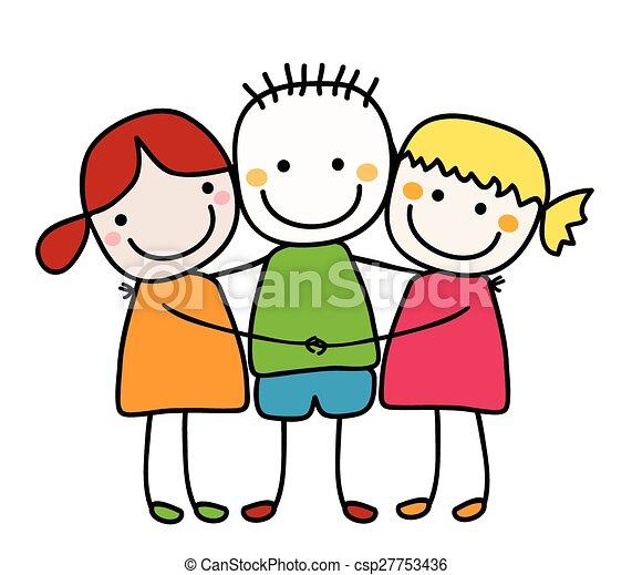 best friends - csp27753436