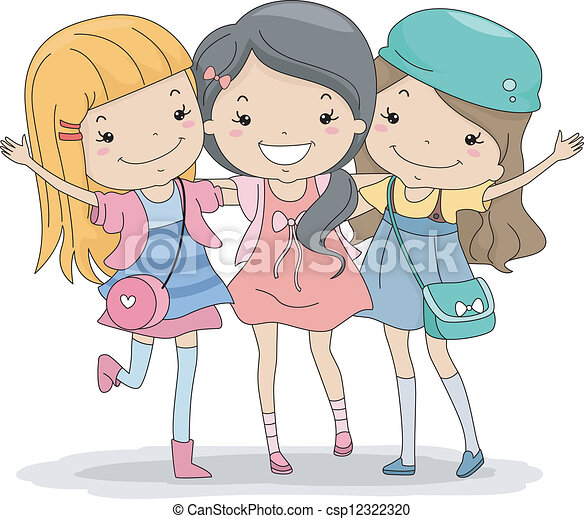 Best Friends Clipart And Stock Illustrations 8734 Best Friends