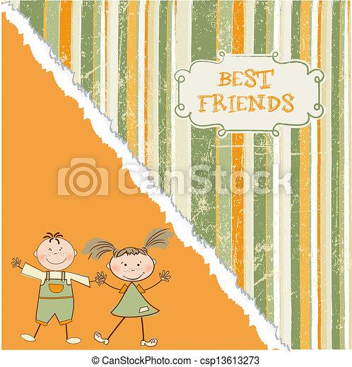best friends - csp13613273