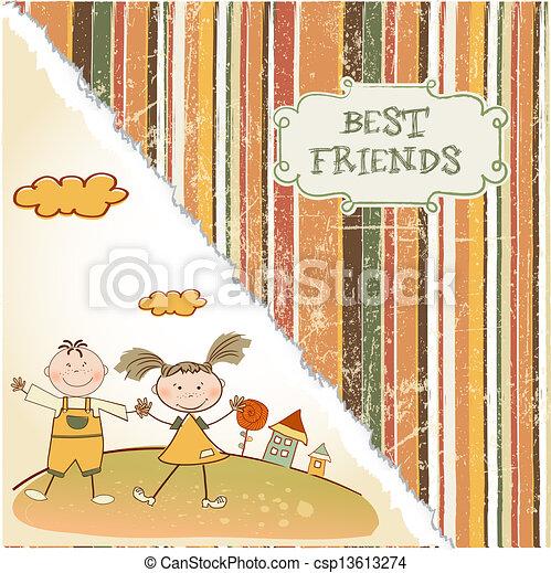 best friends - csp13613274