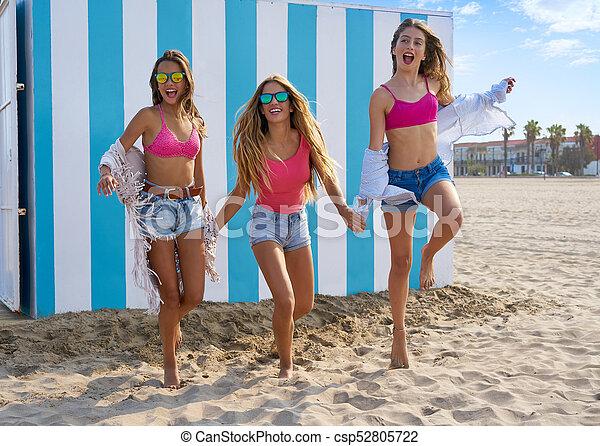 beach girls Teen
