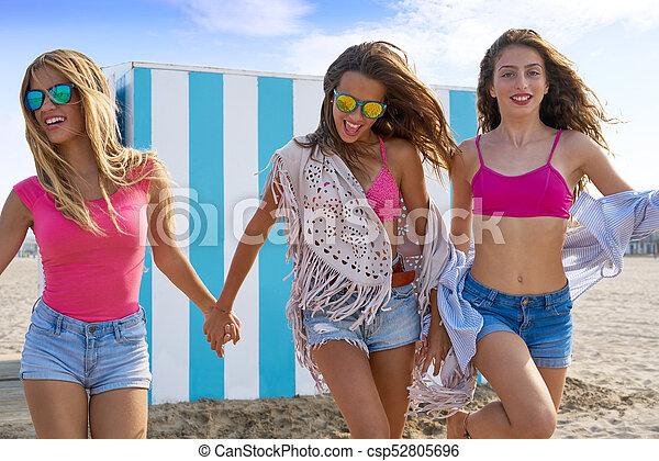teen beach Russian girls