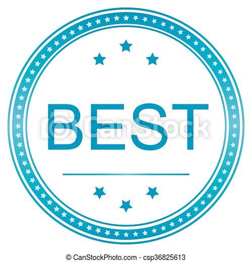 best icon vector image best icon best seal best sticker vector