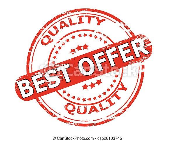 Best offer - csp26103745