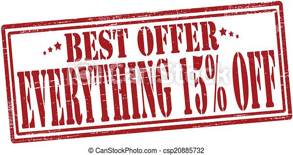 Best offer - csp20885732