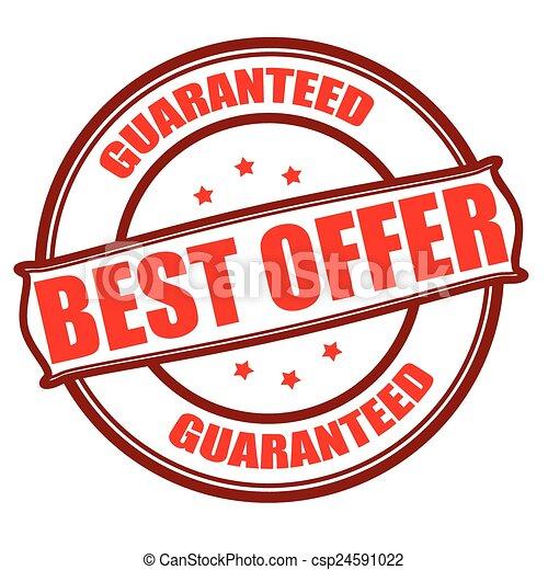 Best offer - csp24591022