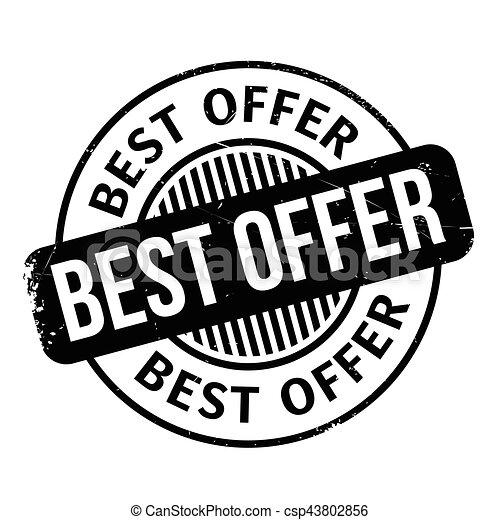 Best Offer rubber stamp - csp43802856