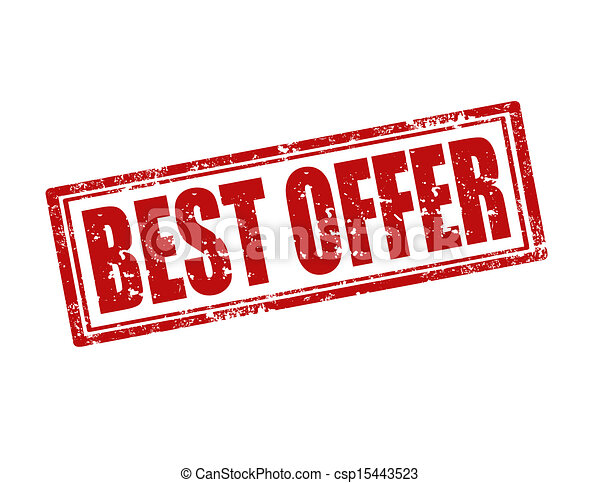 Best Offer-stamp - csp15443523