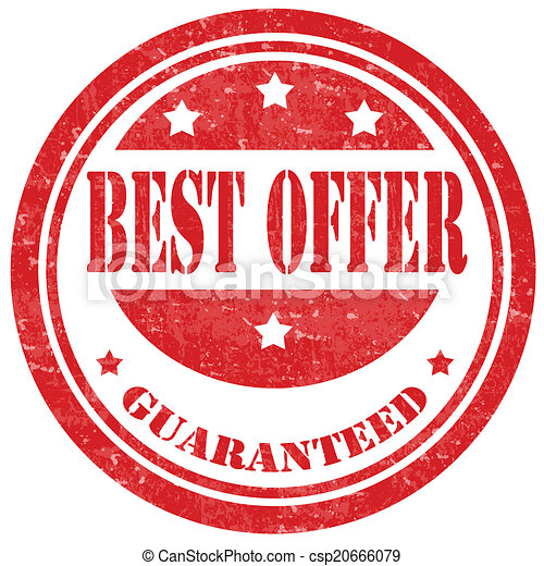 Best Offer-stamp - csp20666079
