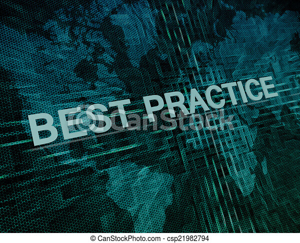Best practice text concept on green digital world map background best practice csp21982794 gumiabroncs Images