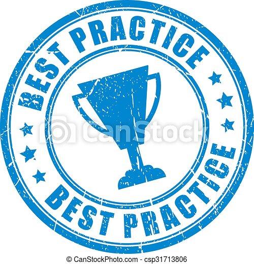 Best practice stamp - csp31713806