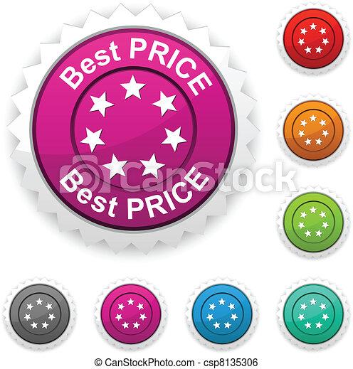 Best price award. - csp8135306