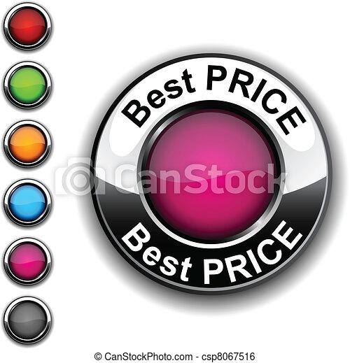 Best price button. - csp8067516