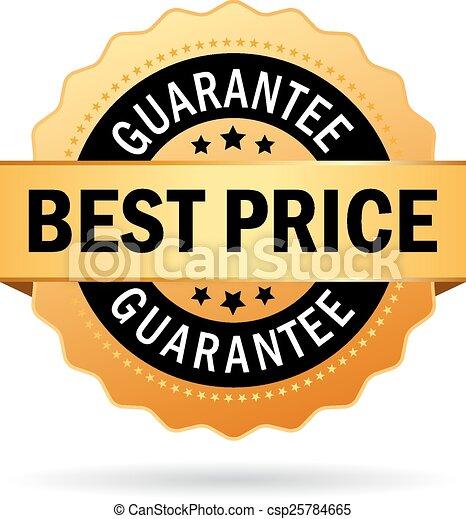 Best price guarantee icon - csp25784665