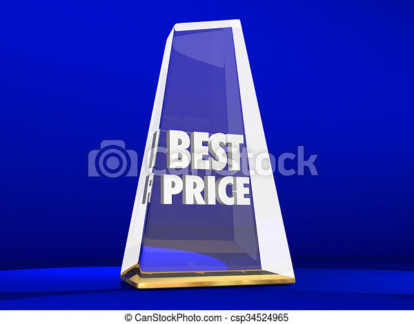 Best Price Lowest Cost Value Deal Sale Award Trophy - csp34524965