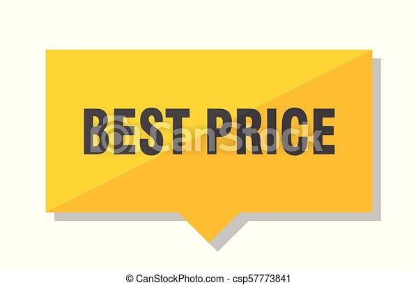 best price price tag - csp57773841