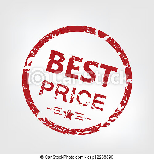 Best price stamp - csp12268890