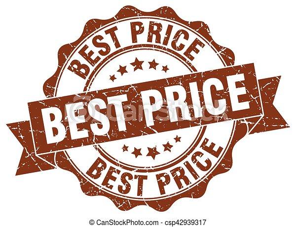 best price stamp. sign. seal - csp42939317