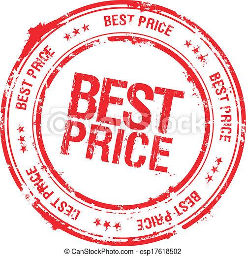 Best price stamp. - csp17618502