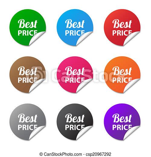 Best price stickers - csp20967292