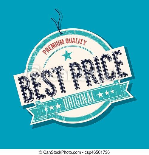 Best Price tag - csp46501736