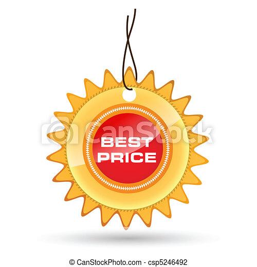 best price tag - csp5246492