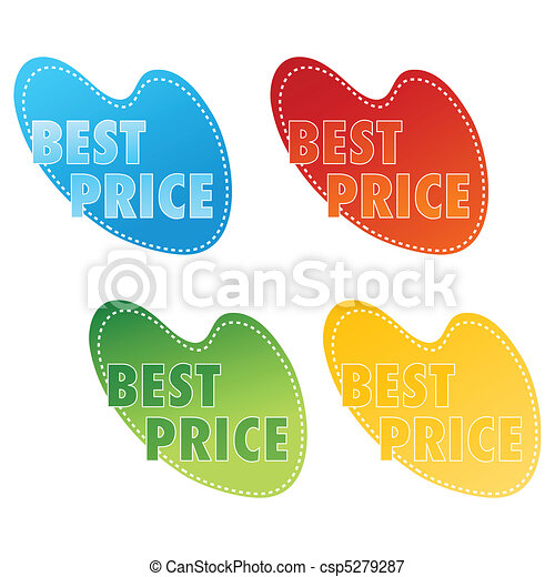 best price tags - csp5279287