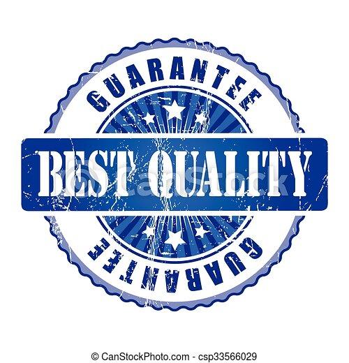 Best Quality Guarantee Stamp. - csp33566029