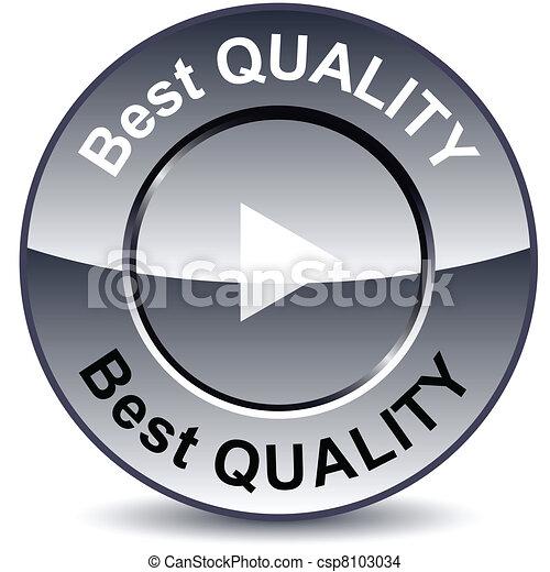 Best quality round button. - csp8103034