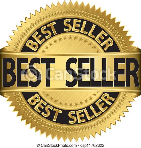 Best seller golden label, vector il - csp11762822