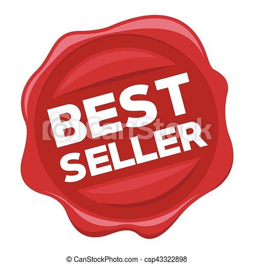 best seller red stamp - csp43322898