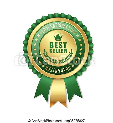 Best seller rosette - csp35975827