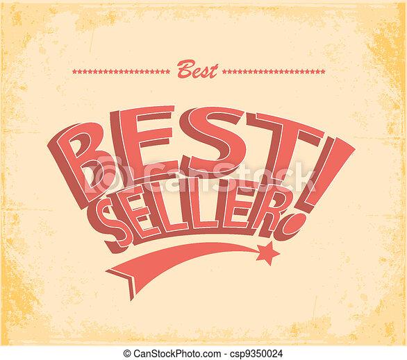 Best seller Vintage Poster Vector - csp9350024