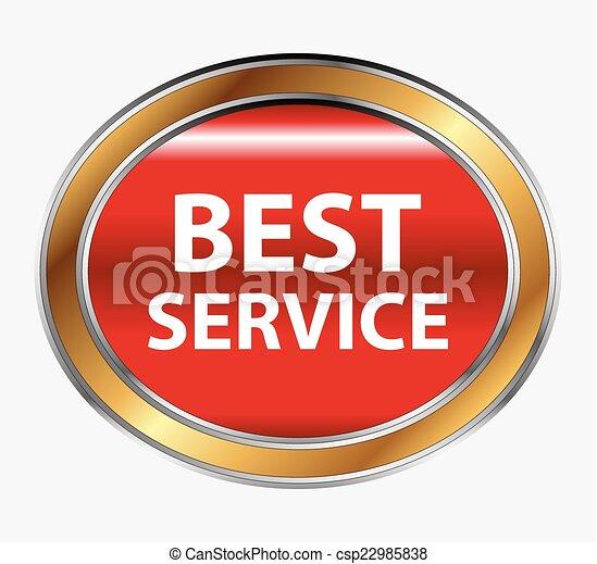 Best service button - csp22985838