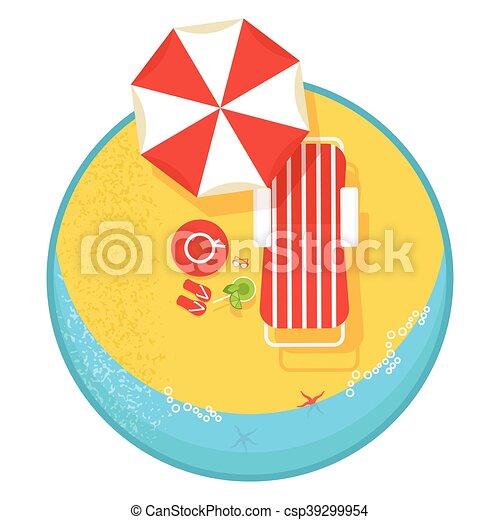 best summer vacation cartoon flat vector illustration clipart rh canstockphoto com summer vacation clipart black and white happy summer vacation clipart
