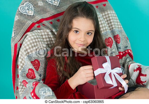 Best toys and christmas gifts for kids. kid little girl hold gift box. child excited unpacking gift. small cute girl received holiday gift. what is inside. ...  sc 1 st  Can Stock Photo & Best toys and christmas gifts for kids. kid little girl hold gift ...