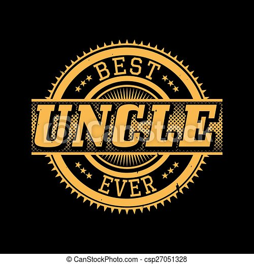 3265f3a6 Best uncle ever typography. Best uncle ever t-shirt typography ...